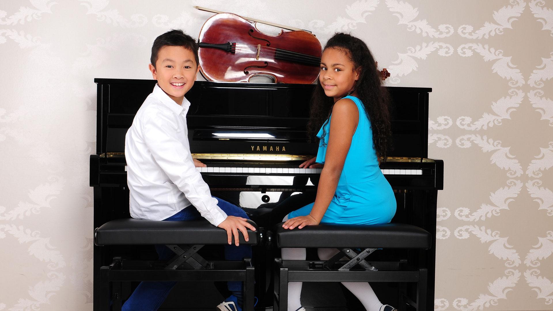 Unterricht für Klavier und Cello