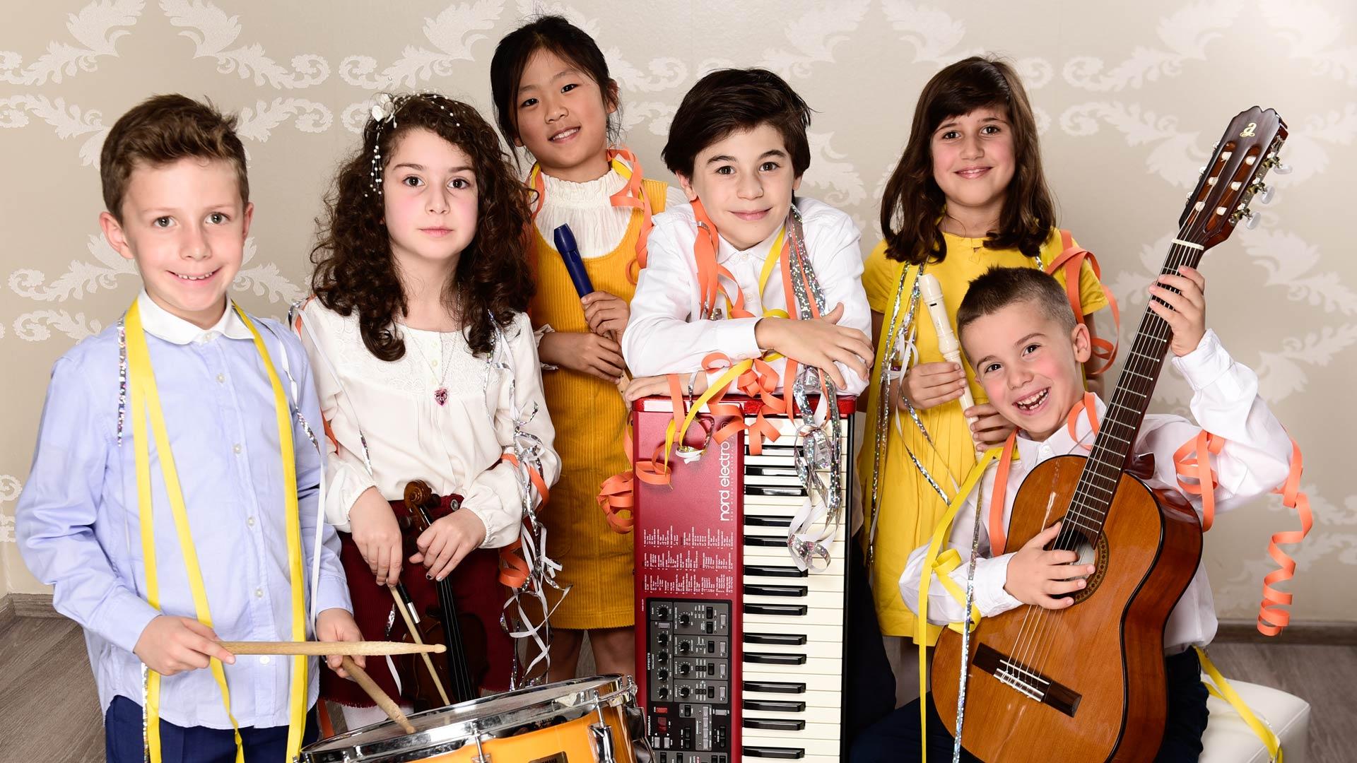Musikschule Pianoforte Gruppenunterricht